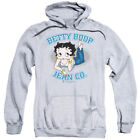 Betty Boop Cartoon Jean Co Adult Pull-Over Hoodie $47.95 USD on eBay
