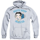 Betty Boop Cartoon Jean Co Adult Pull-Over Hoodie $41.95 USD on eBay
