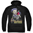 Betty Boop Cartoon Not Your Average Mother Adult Pull-Over Hoodie $41.95 USD on eBay