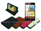 Horizontal Leather Case Cover Stand for Samsung Galaxy Note