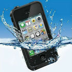 WATERPROOF SHOCKPROOF HEAVY DUTY DIRT RESISTANT CASE COVER FOR iPHONE 4 4S 5 5S