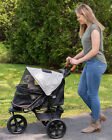 NEW! Pet Gear AT3 NO-ZIP Dog / Cat All Terrain Stroller with Easy-Locking Latch