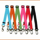 ADJUSTABLE DOG PET CAR SAFETY SEAT BELT HARNESS RESTRAINT LEAD LEASH TRAVEL CLIP