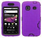 Samsung Galaxy Precedent M820 IMPACT RESISTANT Hard Rubberized Phone Case Cover
