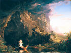 The Voyage of Life Childhood Thomas Cole Christian Fine Art Print Painting Repro