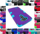 FOR LG G3 2014 DUAL LAYER SHOCK PROOF TUFF ARMOR HYBRID CASE COVER+STYLUS