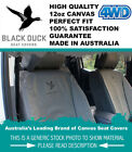 Front Row Black Duck Canvas Seat Covers Land Cruiser 70-79-series