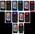 Nokia Lumia 630 / 635 Faceplate Phone Cover HYBRID T-STAND Case