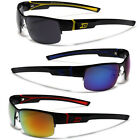 Small Half Frame Men's Sport Wrap Around Sun Glasses Cycling Baseball Driving