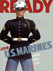 Poster / Leinwandbild Marine Corps recruiting poster from World... - J. Parrot