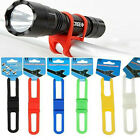 TB Cycling Bicycle Silicone Elastic Bind Strap Mount Holder for Lights Phone US1