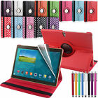 "Leather 360 Rotating Stand Case Cover for Samsung Galaxy Tab S 10.5"" T800/T805"
