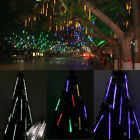 30/50cm 144/240 LED Meteor Shower Rain Lights Waterproof 8 Tubes String for Xmas