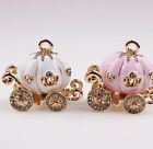 Large Pumpkin Carriage Rhinestones Case Deco iPhone Phone Scrapbook Craft PH109