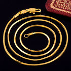 Resplendent Necklace Link Chain 14K Yellow Gold Filled GF Fashion Jewelry b837
