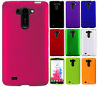 For LG G Vista Rubberized HARD Protector Case Snap On Phone Cover Accessory