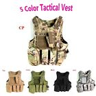 Outdoor Camo Airsoft Military Paintball Hunting Vest Molle Assault Tactical Vest