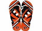 "Cincinnati Bengals NFL Forever Collectibles ""Big Logo"" Flip Flops $8.95 USD on eBay"