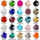 72pcs Loose Faceted Glass Crystal Round Beads 8x8mm Wholesale Hole Size 1mm