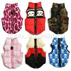 Pet Cat Dog Puppy Soft Padded Vest Harness Warm Clothes Coat Jacket Apparel Clip