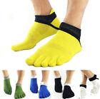 New One Pairs Men's Socks Pure Cotton Sports Five Finger Socks Toe Socks-UK OD