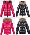 hot sell NWT Women luxury Hoodie 100% real Fur Winter Down Parka coat /Jacket