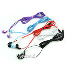 In Ear 3.5mm Noodle Style Headset Earphone Headphone For Cell Phone MP4 Player
