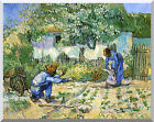 First Steps by Vincent van Gogh Stretched Painting Repro Canvas Giclee Art Print