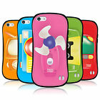 HEAD CASE TOY GADGETS HYBRID TPU CASE COVER FOR APPLE iPHONE 5C