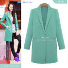 New Women Ladies Wool Cashmere Long Winter Parka Coat Trench Outwear Jacket
