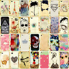 Chic Cute Various Pattern Hard Back Skin Case Cover for Apple Iphone 5S 5G 5 4S