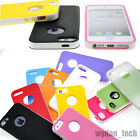 For Apple iPhone 6 5S 4S Lightweight Hybrid Case PC TPU Case Shockproof Cover