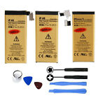 New 1440 2680mAh Internal Replacement Battery&Tools for Apple iPhone 4 4S 5 5S