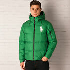 Mens Polo Ralph Lauren Big Pony Down Jacket In Green From Get The Label