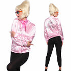 50s Grease Pink Lady Ladies Jacket Top T-shirt Fancy Dress Up Costume AU 6 - 20