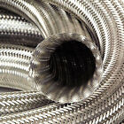 Auto Silicone Hoses Stainless Steel Overbraid Metal