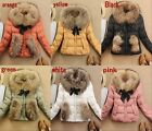 2014 Luxury New Women's Outdoor 90% Down Parka 100% Real fur Coat/ Jacket 4 size