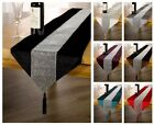 Luxury Eclat Diamante Table Runner, Many Colours, Fine Table Linen