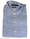 Nautica Men's Twilight Blue Lattice Dots Button Down Dress Shirt -- Choose Size!