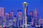 Poster / Leinwandbild Seattle Washington skyline - Chuck Haney