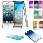ULTRA THIN 3D WATER RAINDROP CRYSTAL SERIES BACK CASE COVER FOR IPHONE 5 5S GEN