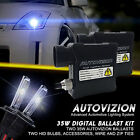 Autovizion Slim Xenon Lights HID Kit  All Bulb size of Yellow, Blue, White, Pink