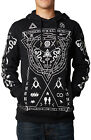 Mind Trip Fox Racing Illuminati Cult Worship Satan Symbols Pullover Fleece Hoody