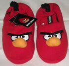 Angry Birds Slip On Style Slippers  Child Uk Size 10 11 12 13 1 Bnwt