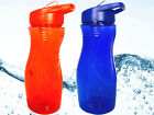 750ML FLIP STRAW DRINK WATER BOTTLE HYDRATION HIKING GYM CYCLING SPORTS BPA FREE