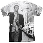 James Dean 1950's American Actor Icon New York Walk Adult Front Print T-Shirt