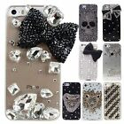 Fashion 3D Bling Diamond Rhinestone Crystal Back Case Cover Skin for iPhone 5 5S