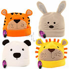 Baby Infant Soft Fleece Hat Cap Warm Winter Cute Animal Beanie Boy Girl UK 0-6 m
