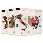 HEAD CASE PATTERNED MAPS PROTECTIVE COVER FOR APPLE iPHONE 5S