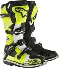 Alpinestars Tech 8 Adult Offroad Boots RS Yellow/Black/White Size 5-15